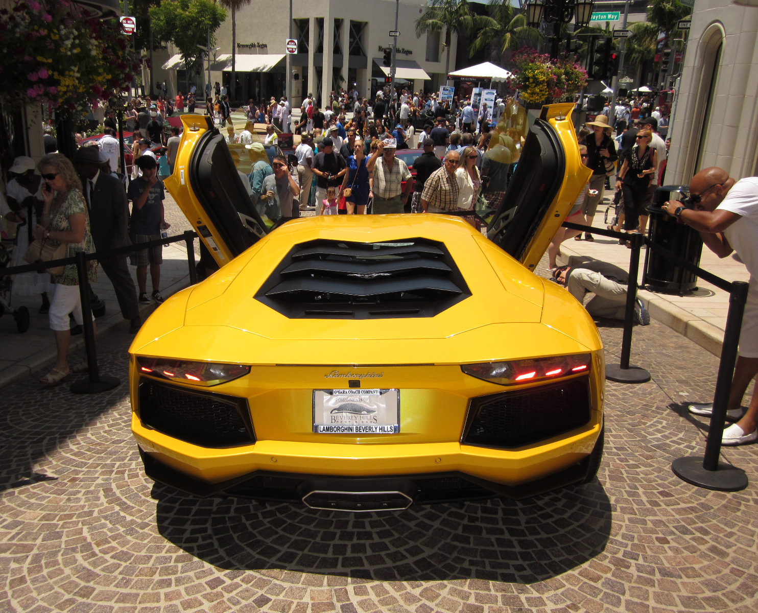 Concours D Elegance Car Show Two Rodeo - Beverly hills car show