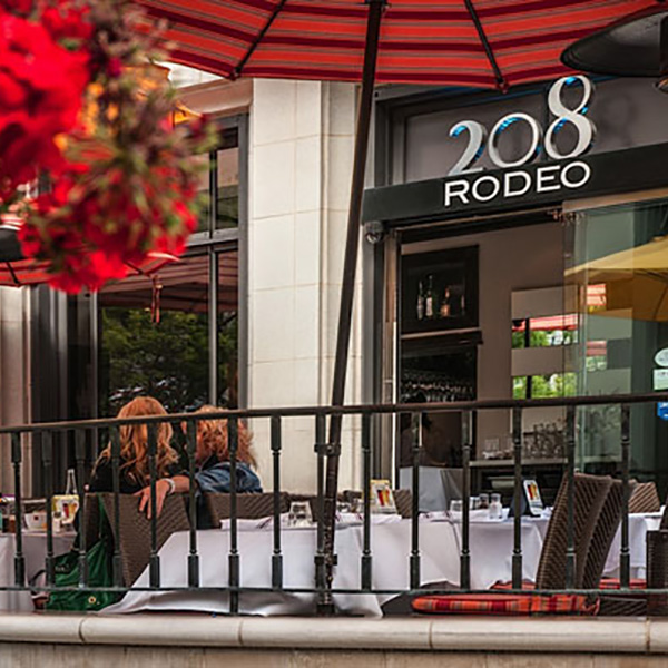 208 Rodeo Restaurant Two Rodeo